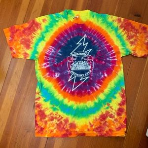 Breckinridge Brewery & Pub Tie Dye T Shirt